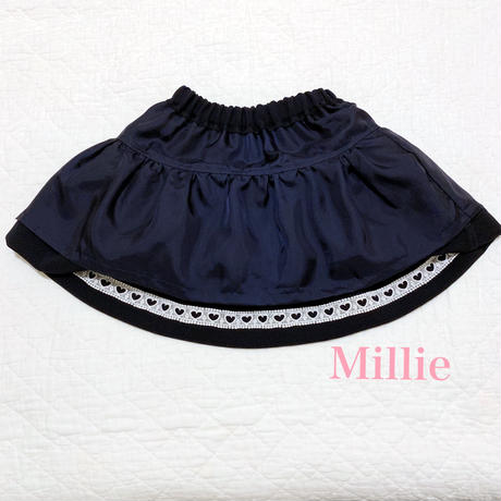 Kids Double Heart Skirt