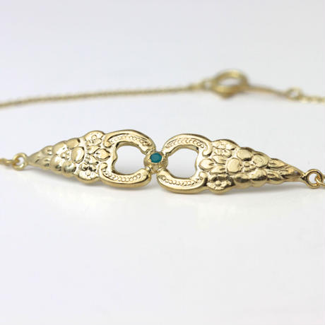 Antique tea spoon bracelet