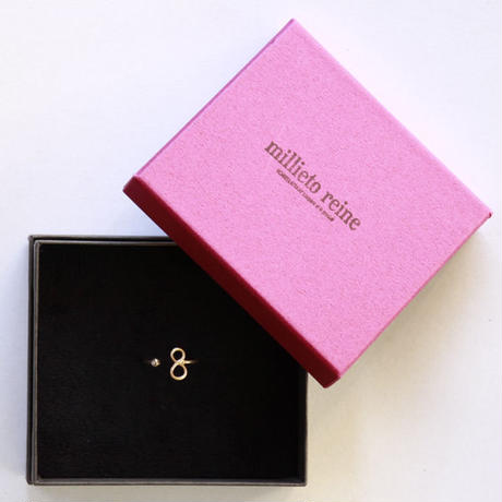millieto reine lucky number ring #8
