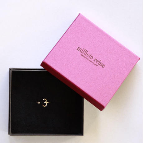 millieto reine lucky number ring #3