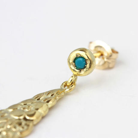 millieto Antique tea spoon Pierce