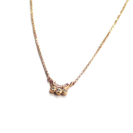 Millieto - 2017A/W Tea spoon diamond necklace / 002
