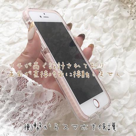 【ネーム入り】Similarlook Bear♡【耐衝撃クリアケース】B25