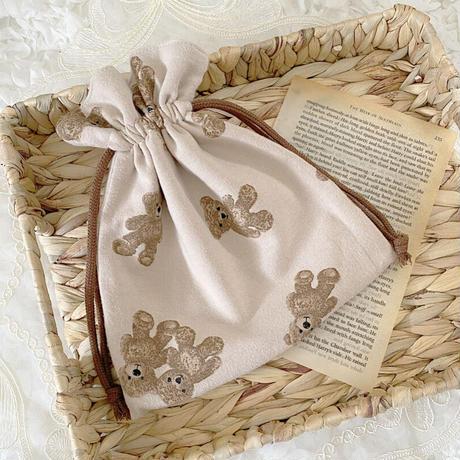 Teddy Bear 巾着♡
