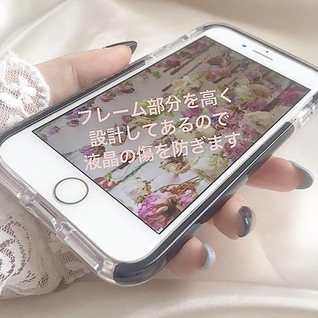 【ネーム入り】Sunflower Bear♡【耐衝撃クリアケース】B20