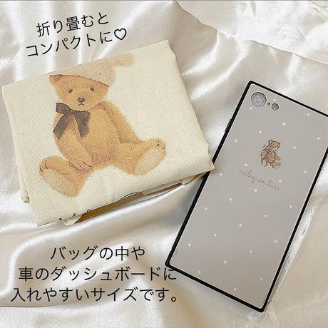 【即納】BunnyHatBear エコバッグ♡  【名入れ不可】