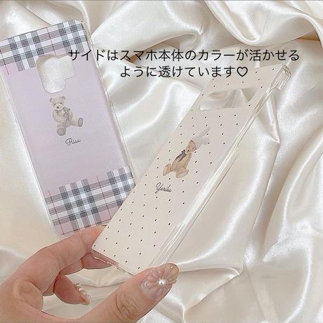 iPhone/Android対応♡クリアケース変更ページ