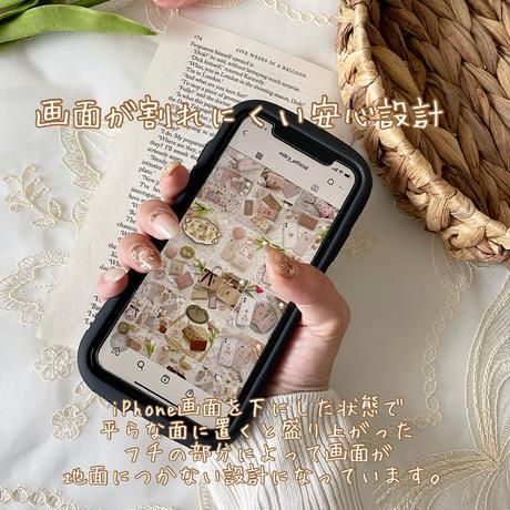 【ネーム入り】Dot Mini Bear♡【耐衝撃リフレクションケース】R01