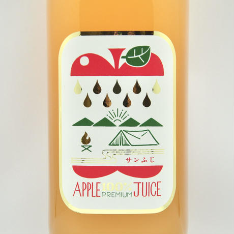 【予約販売】信州プレミアムアップルジュース 1ℓ〈サンふじ〉