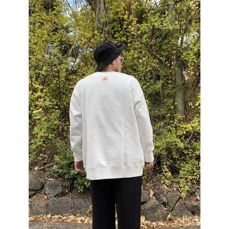 【限定販売】【JEANASIS×苦虫ツヨシ×宮下果樹園】コラボスウェットプルオーバー / white /FREEサイズ