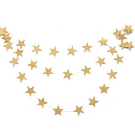 再入荷✩star garland  gold