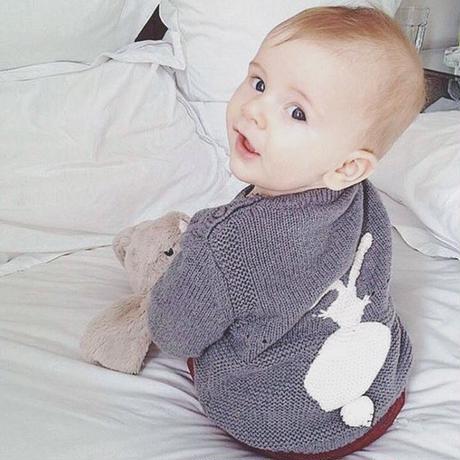 rabbit knit ✩ gray