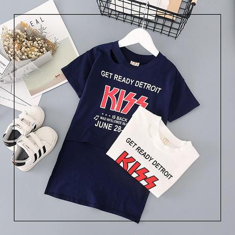 KISSロングテールシャツ