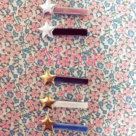 お星さまのヘアピン♡5colors