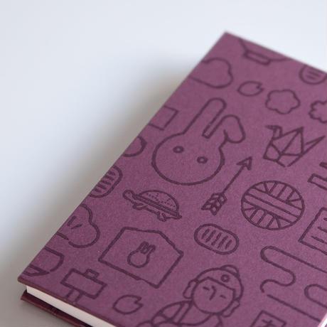 ご朱印帳 紫