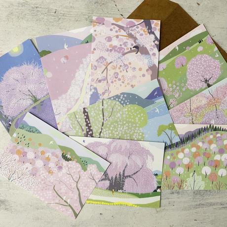 春のポストカードセット2021