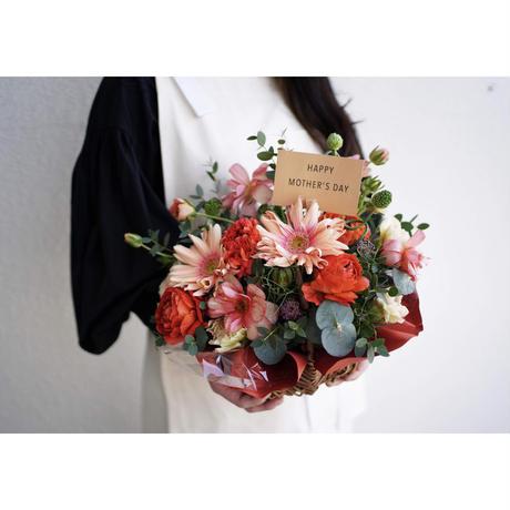 2021 mother's day flower arrangement  / RED & PINK