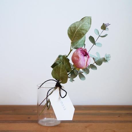 mother's day  ハイクオリティドライフラワーセット / PINK ROSE(カップ咲き)