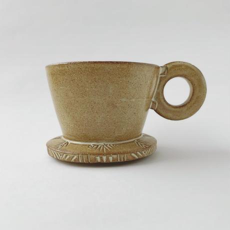 コーヒードリッパー(彫り)