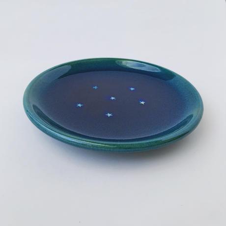 星砂5寸皿
