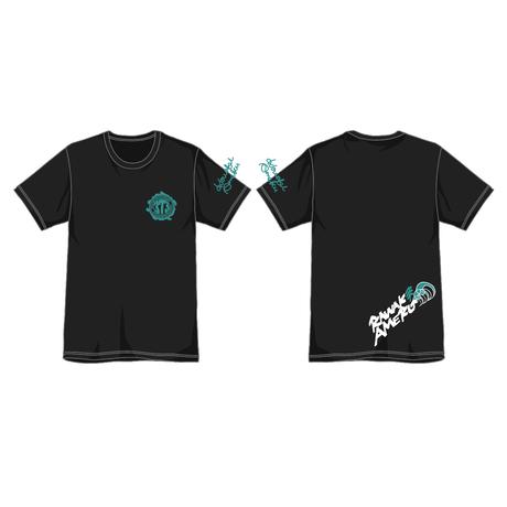"373 Kawaki wo Ameku T-Shirt ""EVER GREEN""(BLACK)"