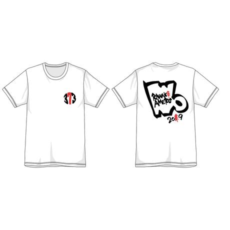 """373 Kawaki wo Ameku T-Shirt """"POP""""(WHITE)"""