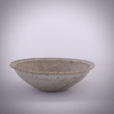 m.g005 リム平鉢 ag(灰釉)