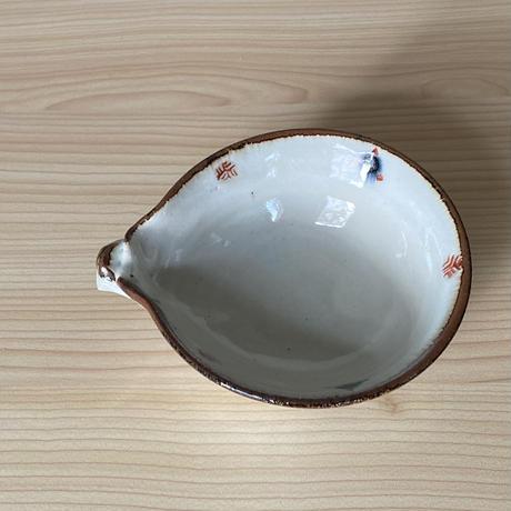 とんすい 安南赤絵毬小紋