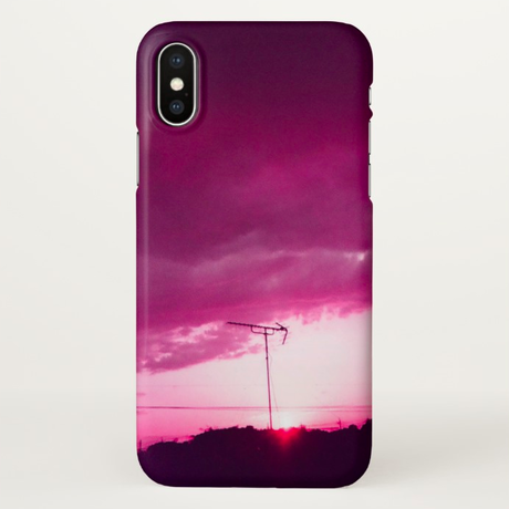 "iPhone X Case ""evening"""