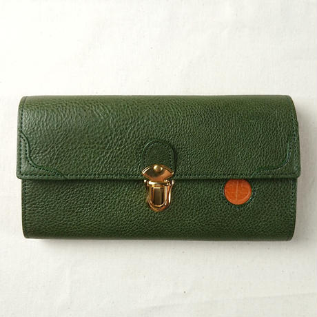 Riton / リトン plug-in hook long wallet olive [469-61379]