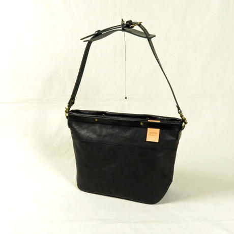 suolo SOWER / スオーロ ソワー leather black [161403]