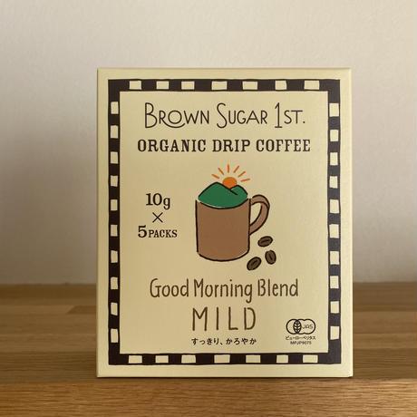 BS1ST.オーガニックドリップコーヒー Good Morning Blend -MILD-