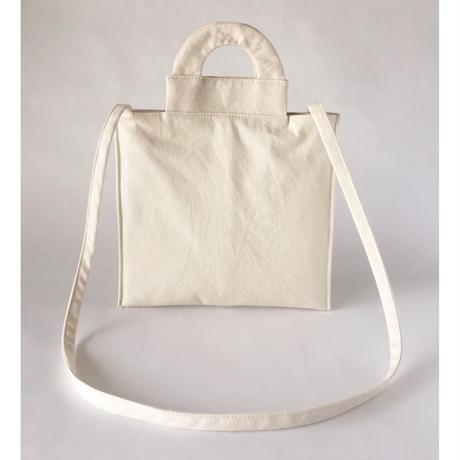 ■受注生産■  arch mini shoulder - off white -