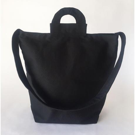 □在庫あり□ arch shoulder tote - black -