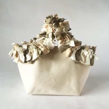 ■受注生産■  mop tote  -卯の花  unohana-