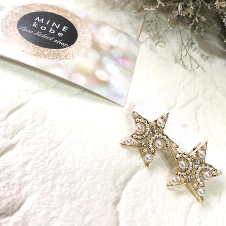 Perl bijou white pierce
