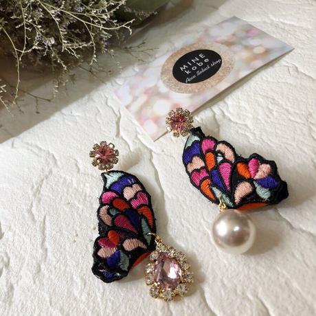 papillon colorful bijou pierce