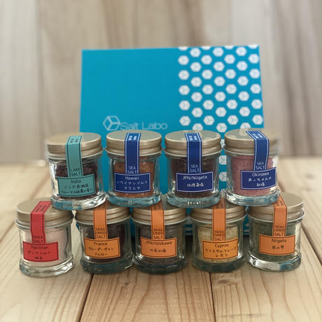 jewel salt box カラフルソルト(9種)