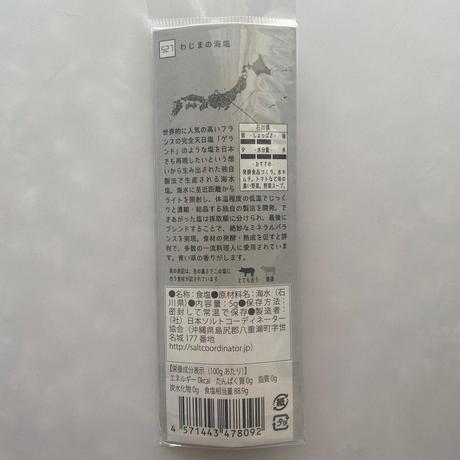 tabishio stick わじまの海塩