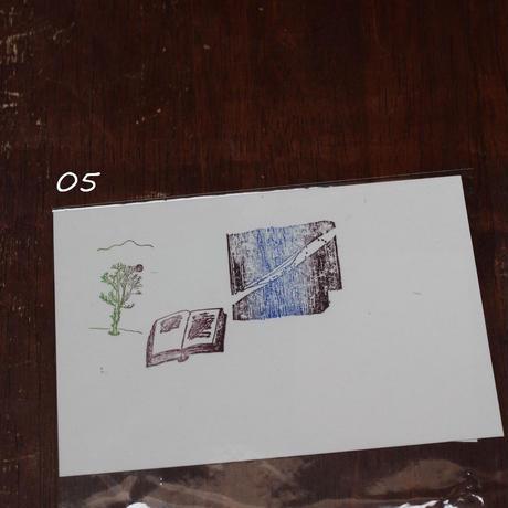 Original Letterpress Postcards  オリジナル活版印刷絵はがき
