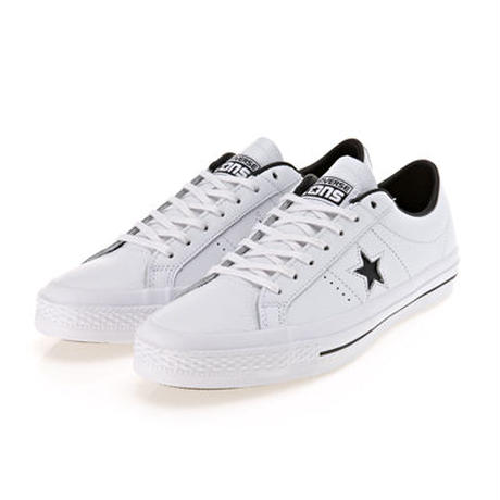 CONS ONE STAR LEATHER WHITE