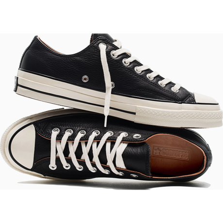 Chuck Taylor All Star 70 OX BLACK  LEATHER