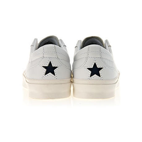 [ 10%SALE!!] ONE STAR CC LEATHER WHITE