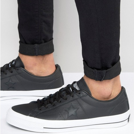 Converse CONS One Star Leather BLK