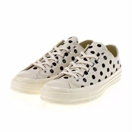 Converse Chuck Taylor All Star '70 Ox Polka Dot Parchment/Black