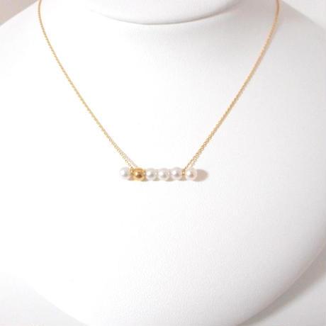 dot gold ネックレス