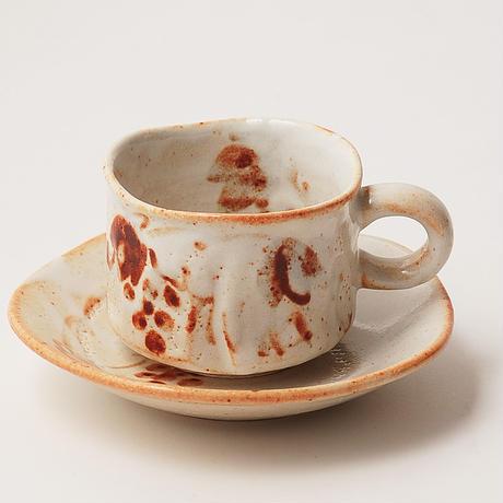 TAKUMI 窯変コーヒー碗皿