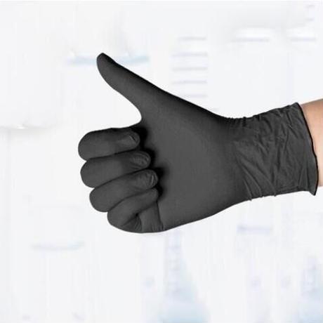 使い捨て手袋 100枚セット ゴム ニトリルグローブ ニトリル手袋 パウダーフリー