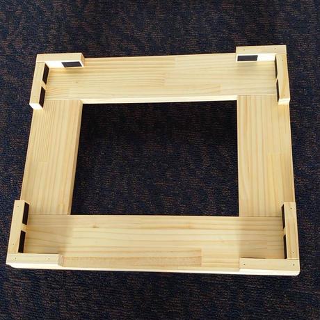 F21-02-09 国産木製 椅子キャリー【お参り椅子用】