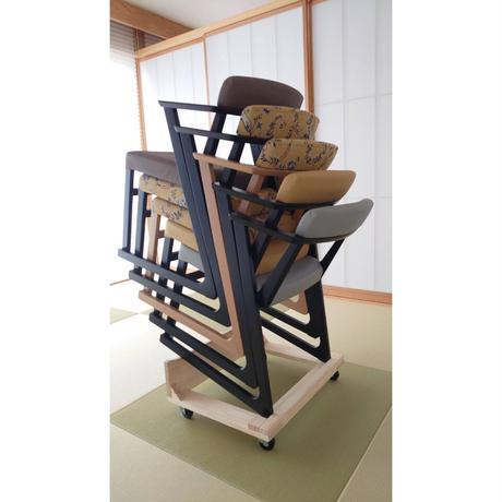 F21-02-10  国産木製 椅子キャリー【椅子用】